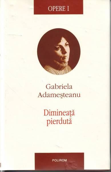Gabriela Adameșteanu - Dimineața pierdută