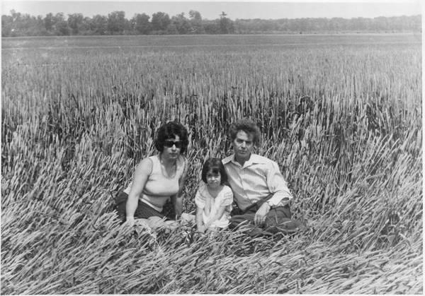 Eu cu părinții mei: Ioana și Cristea Chiriță